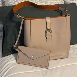 Dooney & Bourke Saffiano Leather Shoulder Bag